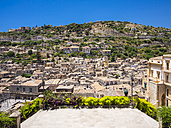 Italy, Sicily, View of Modica - AMF003782