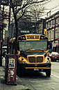 Canada, British Columbia, Vancouver, Chinatown, School bus - NG000240