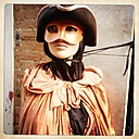 Italy, Venice, carnival mask - JUN000205