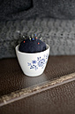 Sugar bowl used as pin cushion - GIS000002