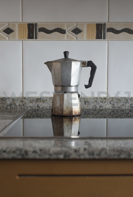 Espresso can in a kitchen - RAEF000054
