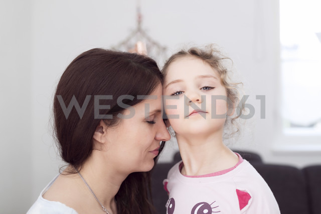 Portrait of mother and her little daughter - OPF000043