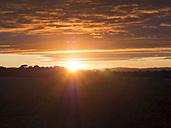Italy, Tuscany, sunset - GSF000975
