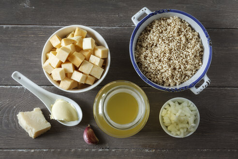 Ingredients of swede risotto - EVGF001281
