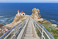 USA, California,Pacific Coast, Gulf of the Farallones, Marin County, Point Reyes Lighthouse - FOF007771
