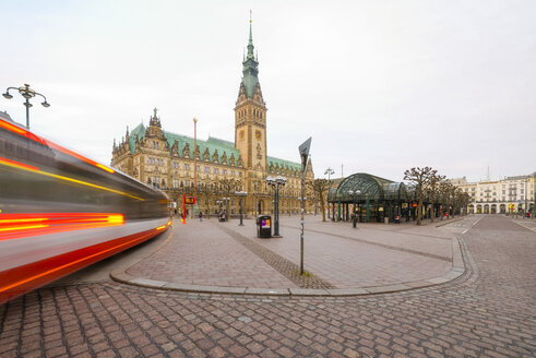 Germany, Hamburg, City Hall - RJF000406