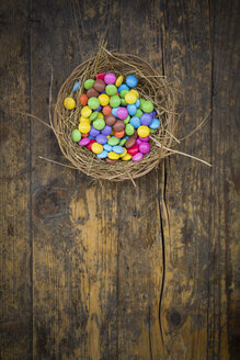 Easter nest with smarties - LVF002980