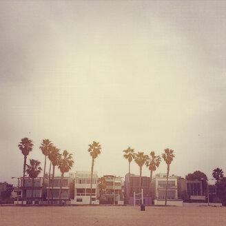 USA, California, Houses at Venice Beach - GCF000042