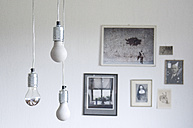 Self-made lightbulbs made of concrete - GIS000052