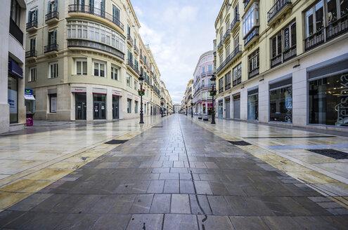 Spain, Andalusia, Malaga, shopping street - THAF001270