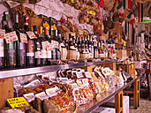 Italy, Florence, assortement of greengrocer's shop with local products - LA001366