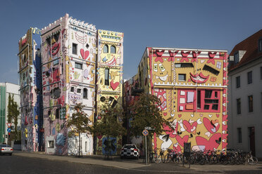 Germany, Brunswick, view to Happy Rizzi House - EVG001357