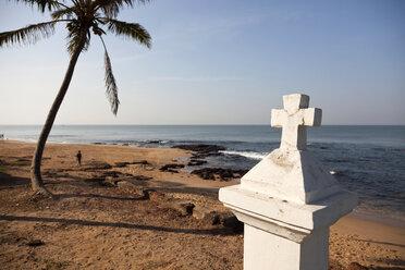 India, Goa, Anjuna, view to Anjuna Beach - PCF000104