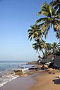 India, Goa, Anjuna, view to Anjuna Beach - PCF000106