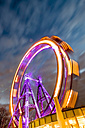 Austria, Vienna, ferris wheel on Prater at blue hour - EJWF000712