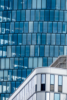 Austria, Vienna, detail of headquarters of OMV in office building Hoch Zwei - EJWF000721