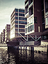 Germany, Hamburg, houses at Habour City - KRPF001404