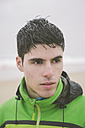 Portrait of a jogger with wet hair - RAEF000101