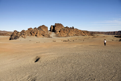 Spain, Canary Islands, Tenerife, rock formation at Teide National Park - PCF000125