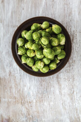 Bowl of Brussels sprouts - EVGF001586