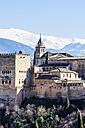 Spain, Andalusia, Granada, View to Alhambra - THAF001355