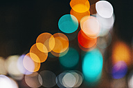 Bokeh in front of dark background - BZF000091