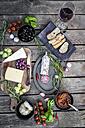 Variety of Italian antipasti - SARF001607