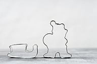 Father Christmas with sledge cookie cutters - MYF000970