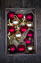 Wooden box of Christmas decoration - LVF003168