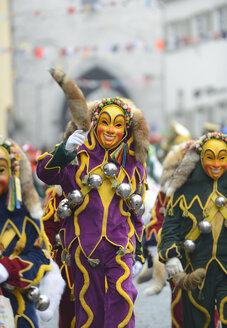 Germany, Ravensburg, parade of the Swabian-Alemannic Fastnacht - LH000456