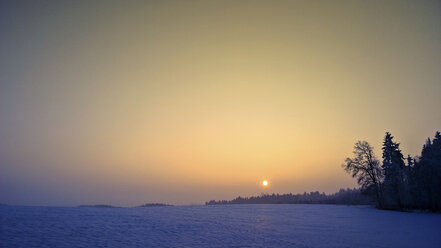Winter landscape, Bavaria, Germany - MAEF010180