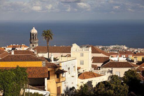 Spain, Canary Islands, Tenerife, La Orotava, view over the old part of town - PCF000142