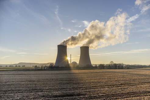 Germany, Lower Saxony, Grohnde, Grohnde Nuclear Power Plant - PVCF000382