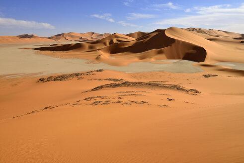 Algeria, Tehak, sanddunes at Tassili n' Ajjer National Park - ESF001564