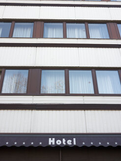 Germany, Hamburg, front of an old hotel - BRF001153
