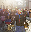 Germany, Wangen im Allgaeu, parade of the Swabian-Alemannic Fastnacht - SIE006560