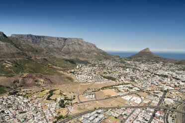 South Africa, aerial view of Cape Town - CLPF000083