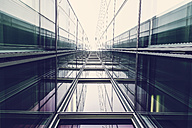 Germany, Duesseldorf, facades of modern office building - HOHF001327