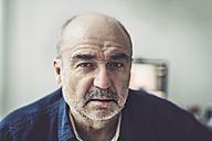 Portrait of serious looking senior man - FRF000245