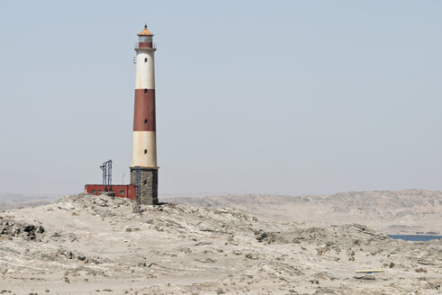 Namibia, Luederitz Peninsula, Lighthouse at Diaz Point - CLPF000107