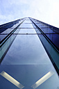 Germany, Dortmund, glass facade of an office building - HOHF001335