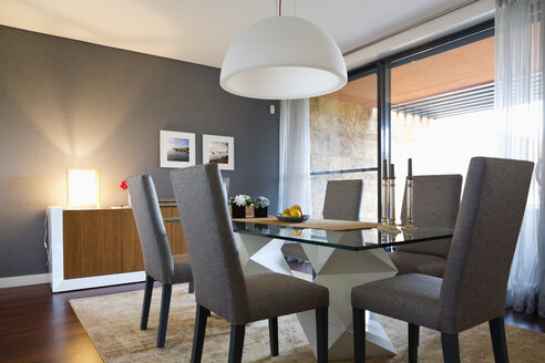 Modern furnished dining room - MSF004505