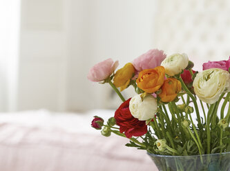 Vase with bunch of Persian buttercups - DISF002031