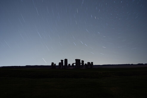 Great Britain, England, Wiltshire, Stonehenge at night - PAF001289