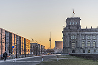 Germany, Berlin, Berlin-Tiergarten, Reichstag building in the morning - PVCF000414