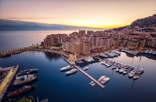 Monaco, Monte Carlo at dusk - DAWF000375