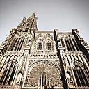 France, Alsace, Strasbourg Cathedral - GW003949