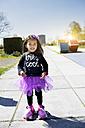 Little girl on roller skates - GDF000715