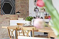 Indoor view of a modern individual bistro - FKF001051