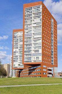 Netherlands, Rotterdam, Katendrecht, high-rise residential building - MSF004532
